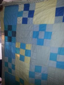 Quilt Great Grandma Mattie pieced and hand quilited for Uncle Martin before she moved from Arkansas