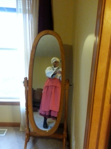 Wearing historic costume for the first time