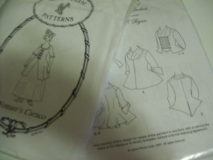 1750s Jacket patterns