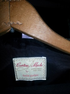 Grandma's highly sought clothing had her labels in them