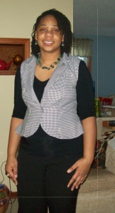 Peplum vest I wore it!