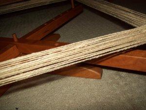 Winding Cotton Skeins