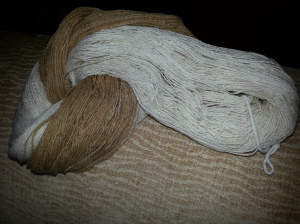 Skeins from 1st Crop