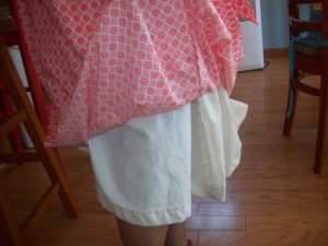 Muslin underskirt
