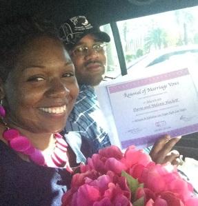 Just married in Vegas