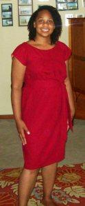 Simplicity 1620 dress with sash