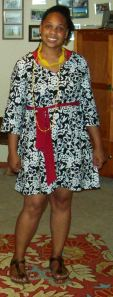 Sew Chic style A as dress