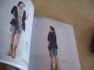 This is style J modeled in the book Sew Chic