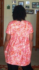 Stylish dress book style E back