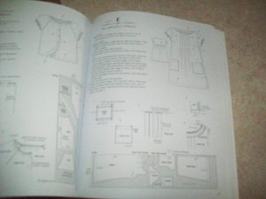 Stylish Dress Book View E instructions. I like the pleat but think I will use different sleeves next time.