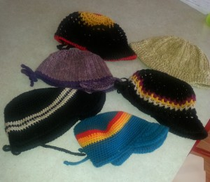 My crochet hat collection