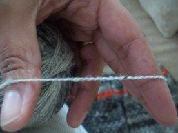 chain plied yarn