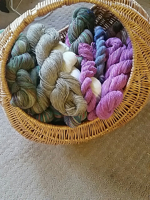 TDF2017 skeins in a basket