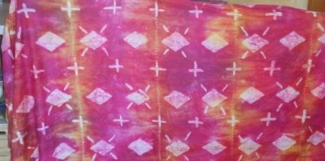 wax batik fabric