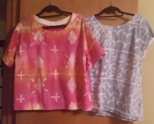 wax batik blouses