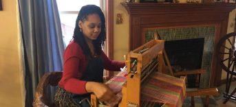 Weaving new fabric